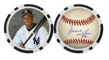 BERNIE WILLIAMS / NEW YORK YANKEES - BALL MARKER / POKER CHIP ***SIGNED***