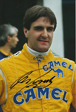 Martin Donnelly Hand Signed Camel Team Lotus F1 12x8 Photo 2.