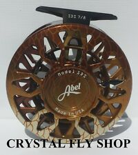 NEW ABEL SDS SEALED DRAG SALT WATER #7/8 WEIGHT FLY REEL REDFISH FREE $100 LINE