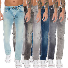 Rock Creek Designer Herren Jeans Hose Stretch Jeanshose Regular Slim Basic M19