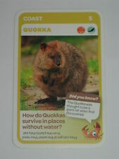 Woolworths Aussie Animals Card - Coast - #5 Quokka