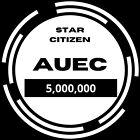 Star Citizen aUEC 5,000,000 Funds Ver 3.14.1 Alpha UEC