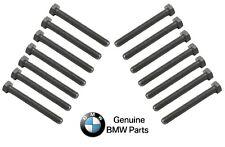 For BMW 325Ci 325i 330i 330xi 525i X3 X5 Z3 Z4 Set of 14 Main Bearing Cap Bolts
