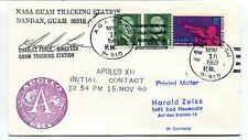 1969 Charles Force Apollo 12 Initial Contact Dandan Guam Space Cover SIGNED