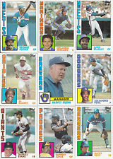1984 TOPPS BASEBALL LOT (375 CARDS)