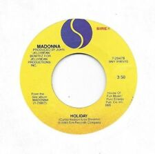 MADONNA * 45 * Holiday * 1983 * VG+ * USA ORIGINAL on SIRE