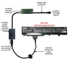 External Laptop Battery Charger for DELL Vostro 1710 1720, T117C T118C P722C
