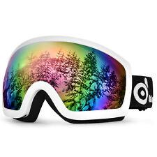Adults Winter Snow Sport Goggles Snowboard Ski Snowmobile Skate Glasses Eyewear