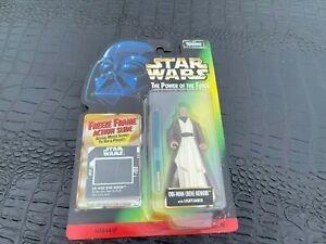 MOC 1997 Hasbro Star Wars POTF  Obi-Wan Kenobi action Figure (S12-BX6)