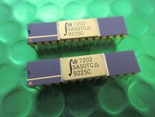 IDT7202SA50TC, RARE, MILITARY GOLD TOP & PINS, IDT CMOS ASYNCHRONOUS FIFO, 1KX9