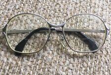 Rare Vintage 60's Eyeglasses Menrad M 306 Australia 54▫�15 130 Silver Frame Euc!