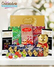 Lindt Christmas White Gift Basket 1029g