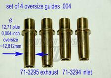 TRIUMPH 4 VALVOLA visite guidate 650 750 Unit 71-3294 71-3295 set of valve le guide .004
