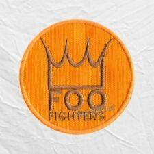 Foo Fighters Crown Embroidered Patch Rock Band Dave Grohl Pat Smear Nate Mendel