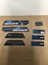 Quicksilver Mercruiser Decal Set Part #37-812776A30