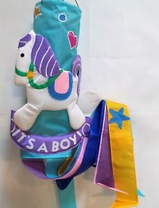 It's a Boy Tufted 3D Windsock by NCE #20142, Baby Announcement