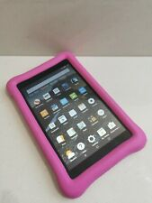 Amazon Fire 7 HD (7TH GEN) 8GB Kids Tablet-Black/Pink GOOD SCREEN!!