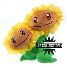 plantes CONTRE zombies TOURNESOLS GEMELLI PELUCHE vs. double
