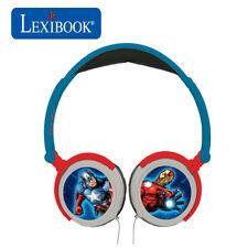 Lexibook Kids Avengers Plegable Estéreo en Oído Auriculares Con Limitador De Volumen