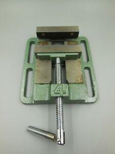 "PITTSBURGH 4"" DRILL PRESS VISE MODEL 30999 / BOLT DOWN SLOTS 1/2"" X 2-3/4"""