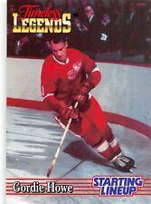 "1995 Gordie Howe - Kenner Starting Lineup ""Timeless Legends"" Detroit Red Wings"
