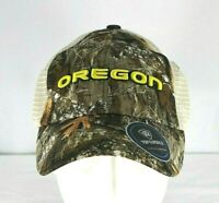 Oregon Ducks Adult Top of the World  Realtree Sentury Camo Cap Snapback