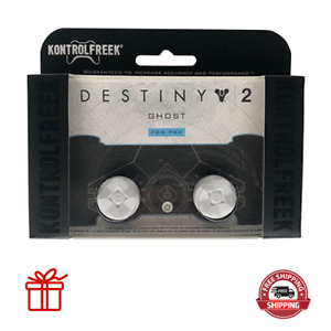 Kontrol Freek PS4 & PS5 Controller Thumb Grips Destiny 2 Ghost (White) 2pc NEW