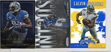3-calvin johnson detroit lions lot 2014 prizm intros r+s longevity and crusade