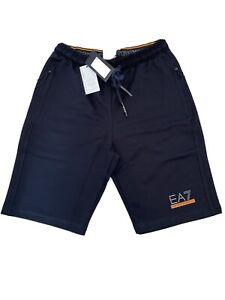 "Mens ARMANI shorts Classic Cotton Zip Pockets Navy Size XLarge 36""waist £44.99"
