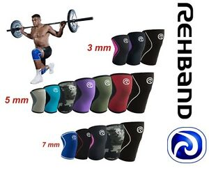 Rehband CrossFit Knee Support Rehband 3mm,5mm,7mm Core Line RX Line Kniebandage