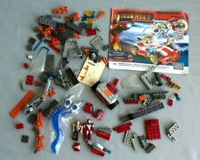 *MEGA BLOKS IRON MAN 2 WHIPLASH SHOWDOWN -USED,96-% COMPLETE-C-70
