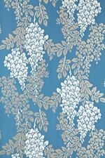 Farrow And Ball Luxury Wallpaper Wisteria Collection Blues BP2218