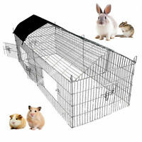Puppy Play Pen Pet Rabbit Hutch Guinea Pig Chicken Run Cage Bunny Speciail 1.8 M