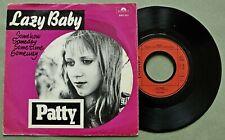 "Fluxus;  Wim T. Schippers, 1974: "" Patty: Lazy Baby "";  rare 7"" vinyl single"