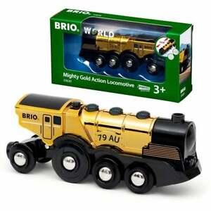33630 Brio Mighty Gold Action Locomotive Train Engine .  UK Seller NEW 2021