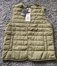 TIMBERLAND THERMORE INSULATED JACKET VEST GILLET *NEW* £270 WARM OUTDOOR GREEN