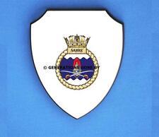 HMS SABRE WALL SHIELD (FULL COLOUR)