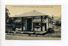 Cape Cod MA Mass Monument Beach 1934 Polyanna Shop, typewritten ad on back