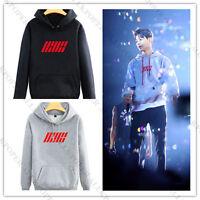 KPOP IKON Sweatershirt Unisex Hoodie  Bobby Pullover B.I Jun Hoe Jinhwan Shirt
