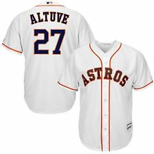 JOSE ALTUVE HOUSTON ASTROS YOUTH MEDIUM 10/12 WHITE MLB BOYS JERSEY