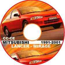 MITSUBISHI LANCER-MIRAGE-PROTON CC-CE Series 1991-2001 Workshop  Manual CD