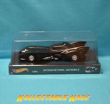 1:24 Hot Wheels - Batman Returns Movie Batmobile - Hertiage Version NEW IN BOX