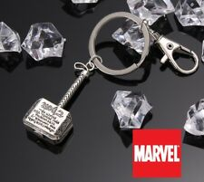 MJN2 Marvel Comics THOR Hammer Mjolnir Avengers Ragnarok Metal Key chain cosplay