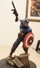 SIDESHOW EXCLUSIVE CAPTAIN AMERICA PREMIUM FORMAT ALLIED CHARGE ON HYDRA STATUE