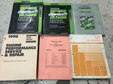 1990 Toyota Camry Service Repair Shop Workshop Manual Set W EWD + AC Installatio