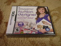 Imagine Fashion Designer World Tour Nintendo Ds 2009 8888165613 Ebay