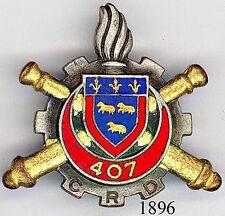 1896 - MATERIEL - 407e C.R.D.