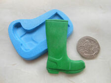 Sugarcraft/FIMO Mould: Large Wellington Boot (Welly / Garden / Gardening)
