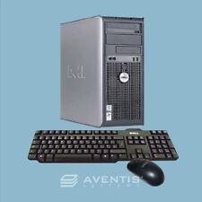 Dell Optiplex 780 Tower E8400 Core 2 Duo 3.0GHz / 8GB / 2TB / Win 10 x64 / 1 YR