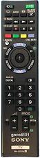 Original SONY TV Remote Control RM-GD029 RMGD029 KDL46W700A KDL50W670A KDL50W700